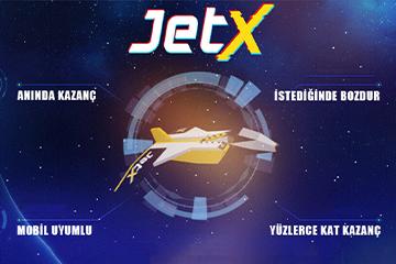 Jet hızında oyun JetX Tümbet'te