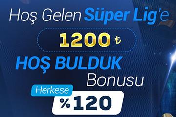Tümbet Hoş Bulduk Bonusu 1200 TL