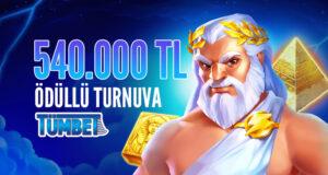 540.000 TL Ödüllü Slot Turnuvası Tümbet'te